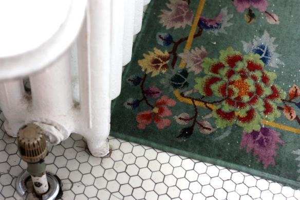 rug and radiator