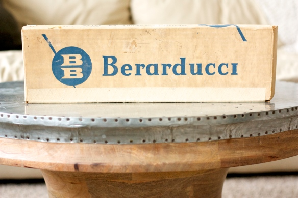 Berarducci logo on box
