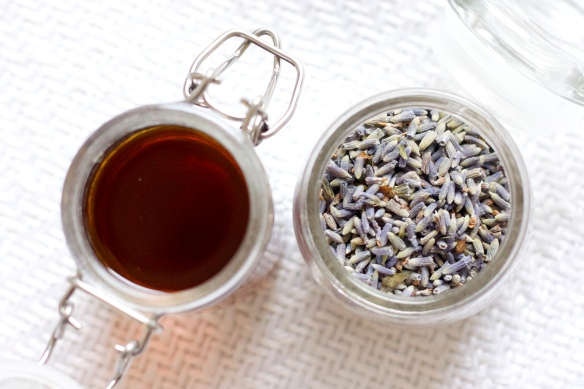 Homemade Lavender Coffee Syrup (plus a DIY latte!)