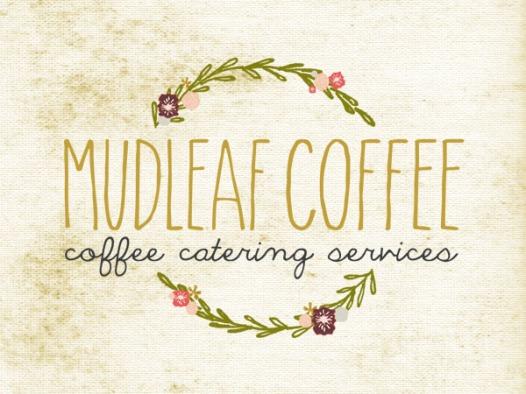 Mudleaf flower logo