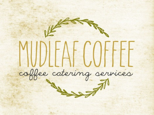Mudleaf coffee logo
