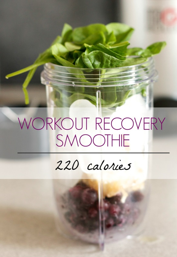 Workout Recovery Smoothie